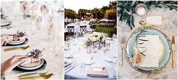 Best 25 Wedding Table Settings Ideas On Pinterest Elegant Regarding Decorations For Weddings Plan