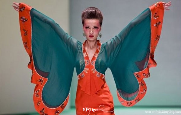 Ne.Tiger Chinese luxury brand presents their spring summer 2010 haute couture line at China Fashion Week