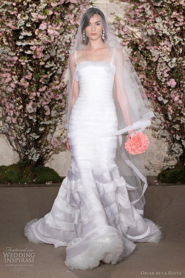 Oscar De La Renta Spring 2012 Wedding Dresses Wedding