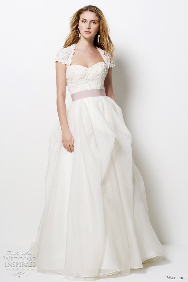 watters 2012 napa wedding dress