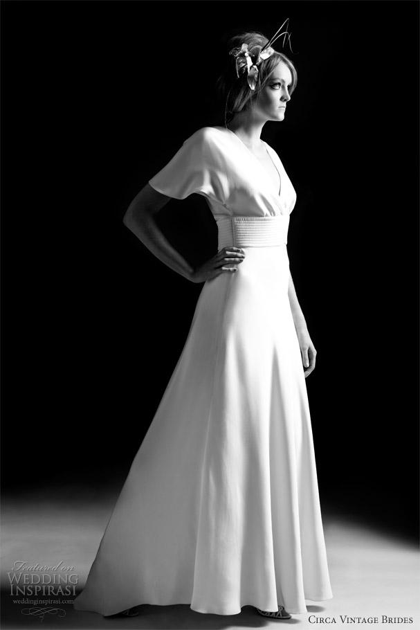 Circa Vintage Brides 20122013 Wedding Dresses Wedding