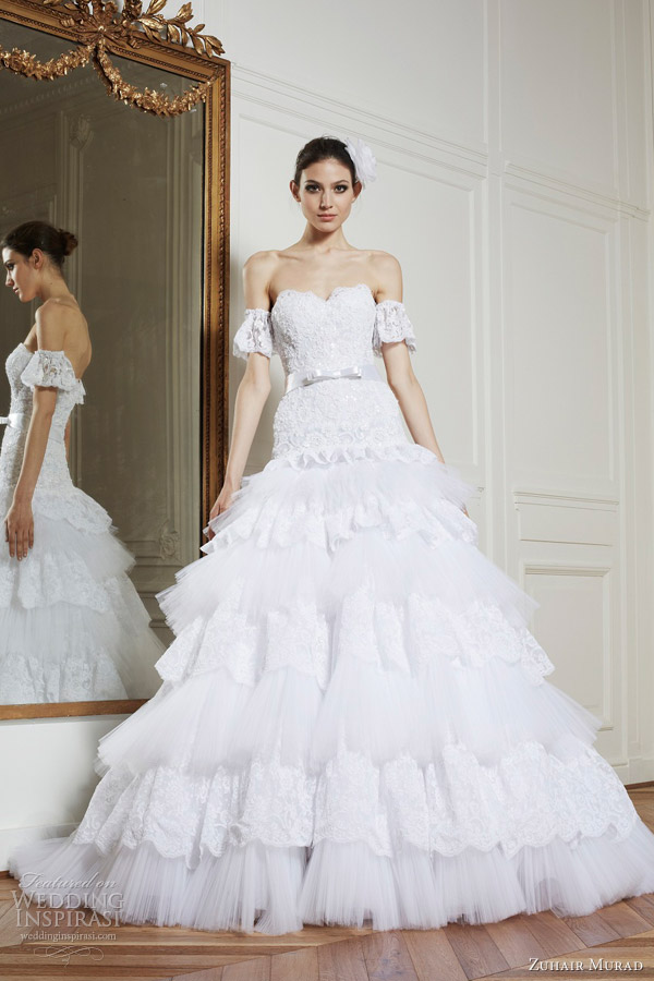 Zuhair Murad Wedding Dresses FallWinter 2013 Bridal