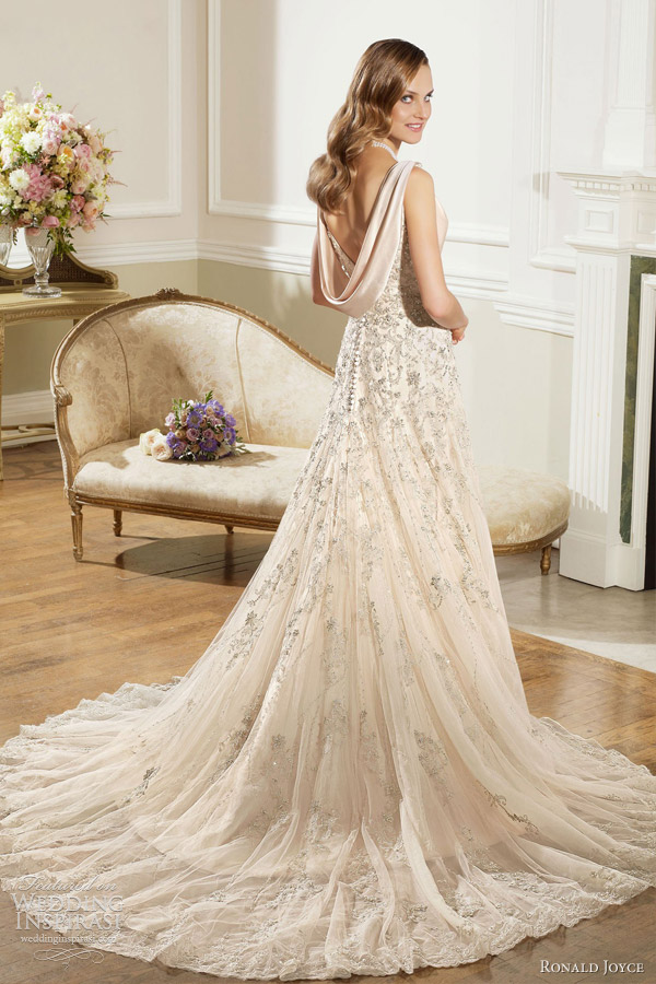 Flare Lace Neckline Sweetheart Dress And And Line Embellished Tulle Fit Wedding Soft