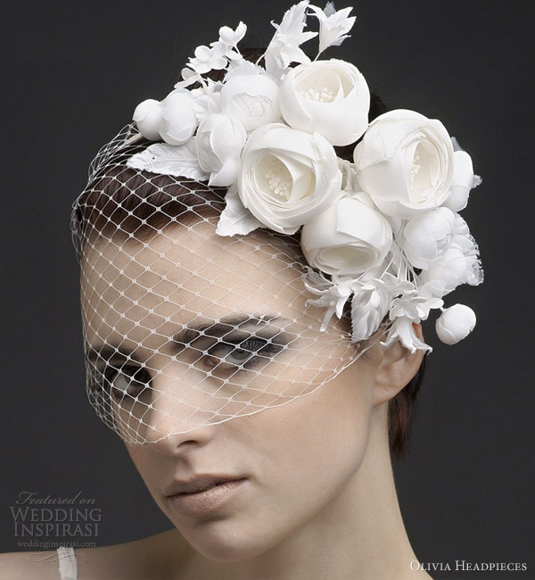 Olivia Headpieces 2013 Bridal Collection Wedding Inspirasi