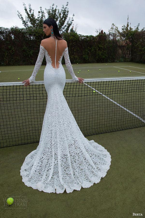 Berta 2015 Bridal Collection Long Sleeve Wedding Dresses