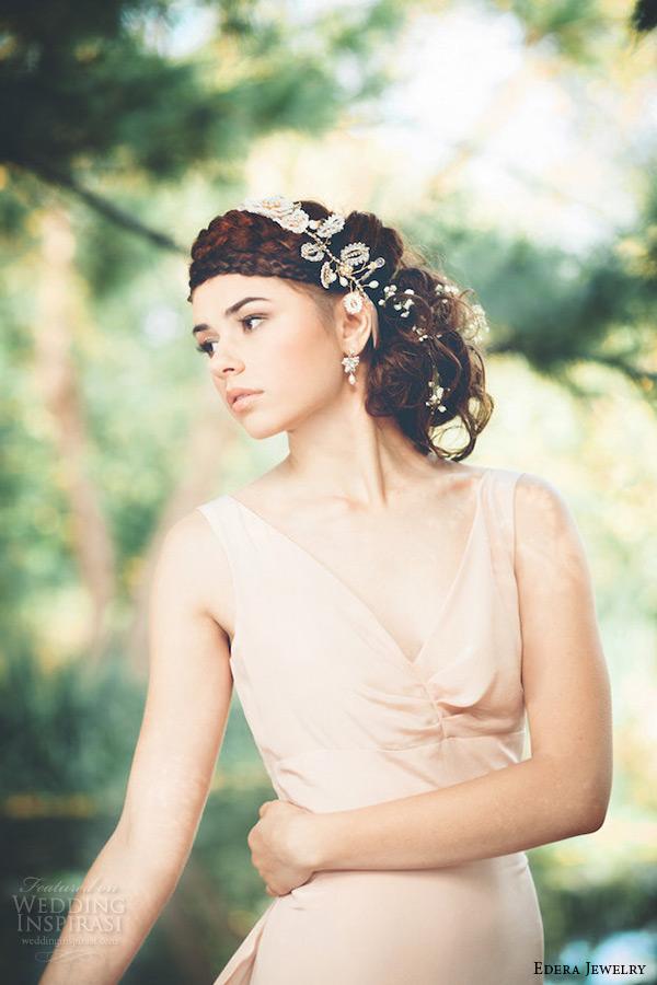 Edera Jewelry Woodland Goddess Collection Wedding