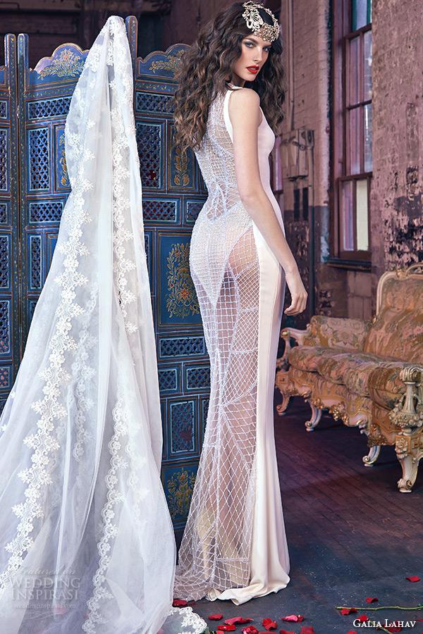 Galia Lahav Bridal Spring 2016 - Vestido de noiva sexy