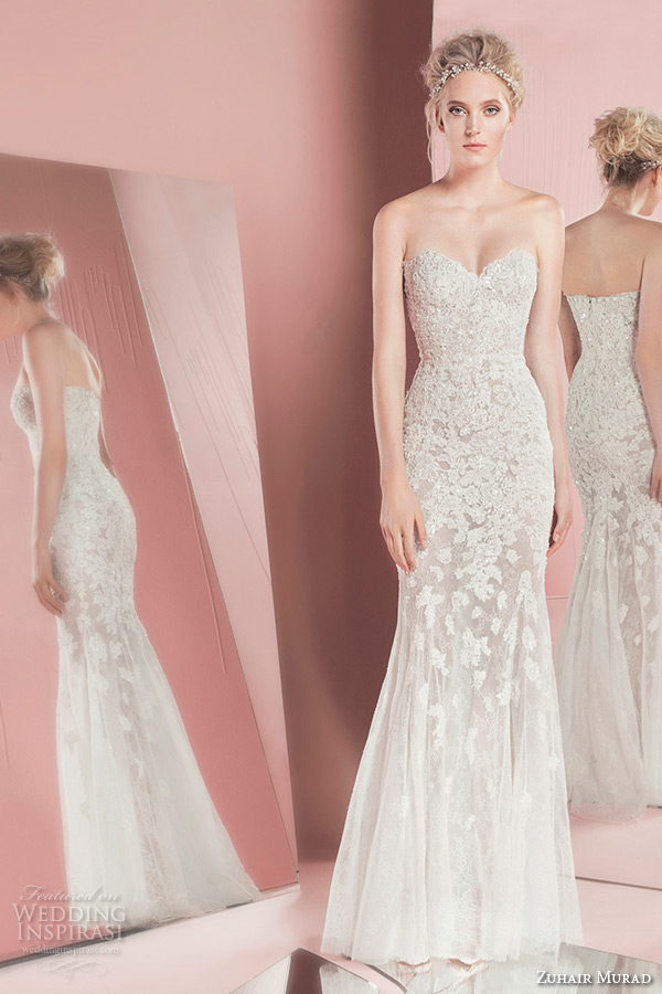 Zuhair Murad Bridal Spring 2016 Wedding Dresses Crazyforus