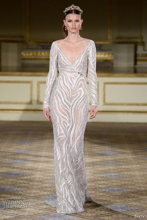 Berta Bridal Fall 2016 Wedding Dresses - crazyforus
