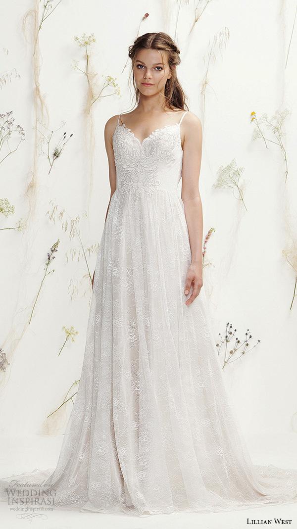 Lillian West Spring 2016 Wedding Dresses Wedding Inspirasi