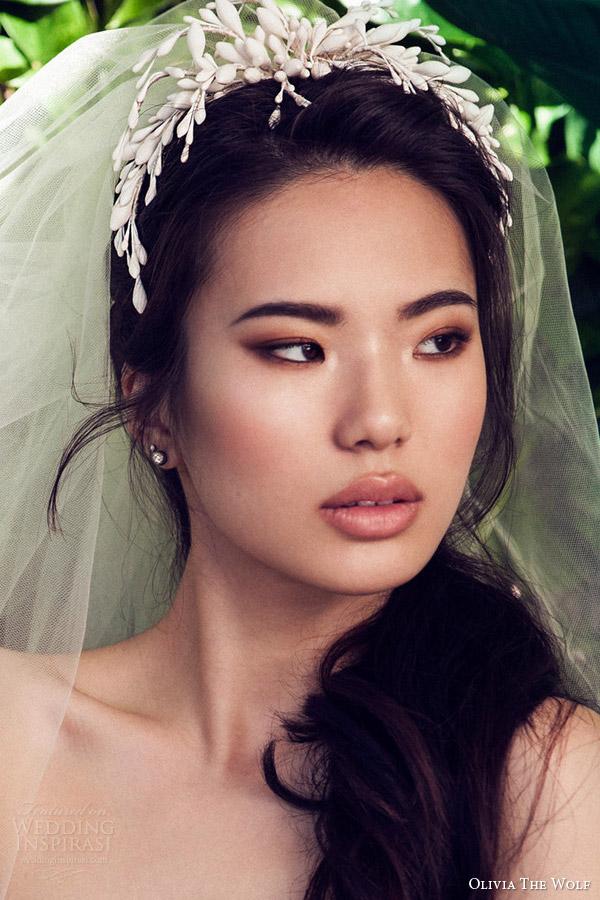 olivia the wolf headpieces 2016 bridal accessories jacinta wax head piece modern wedding hair