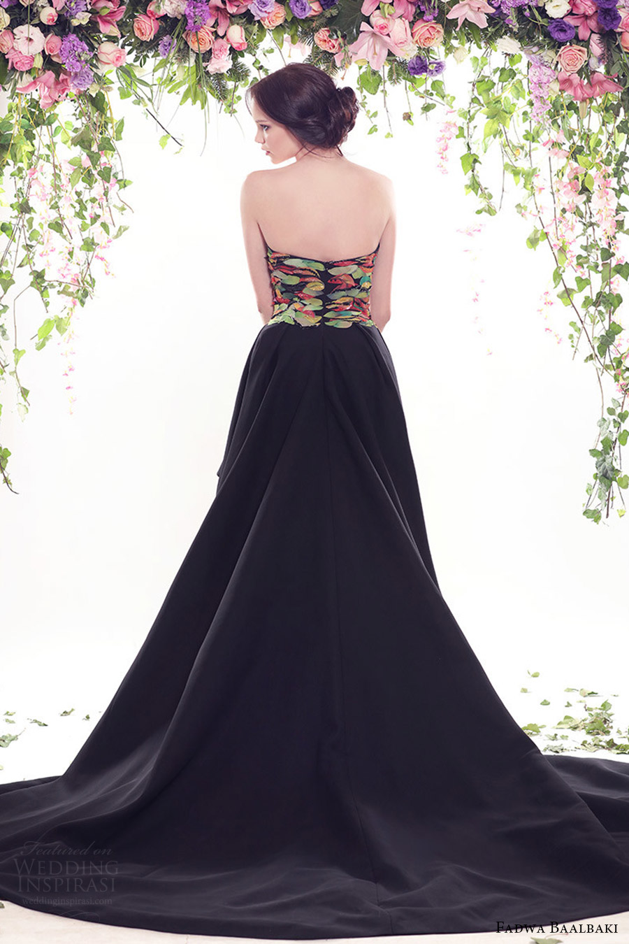 fadwa baalbaki spring 2016 couture strapless straight across mullet evening dress bv