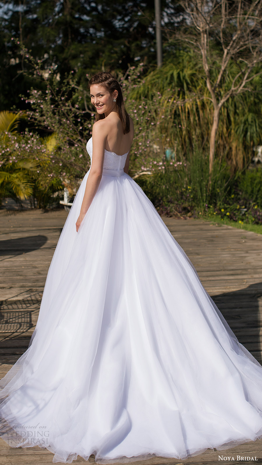 noya bridal 2016 3 strapless sweetheart ball gown wedding dress (1210) bv princess romantic