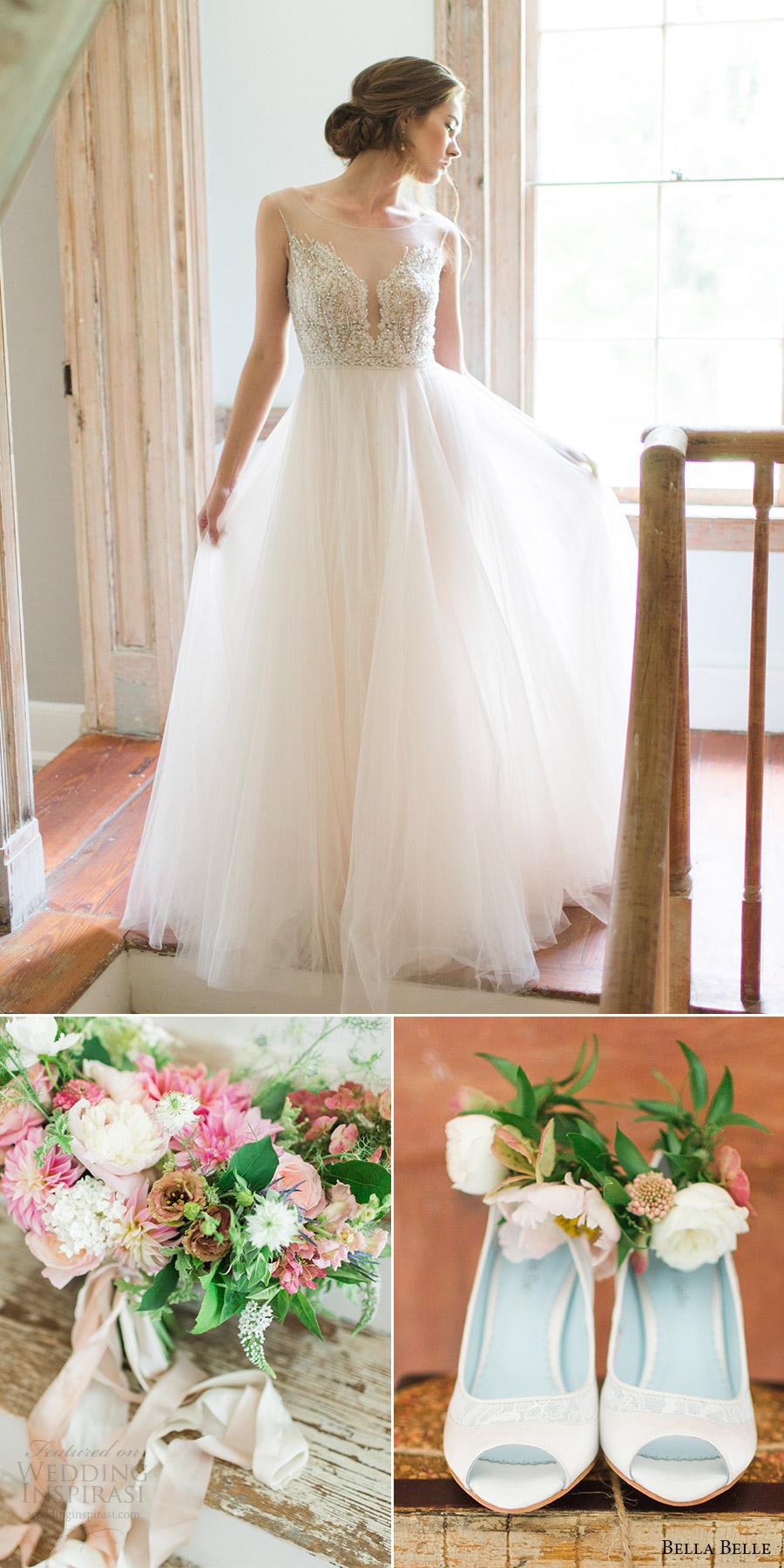 bella belle bridal shoes 2016 miranda wedding shoes heel watters gown