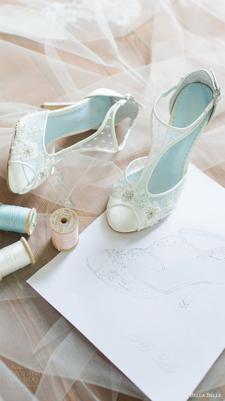 bella belle bridal shoes 2016 paloma peep toe t strap heels
