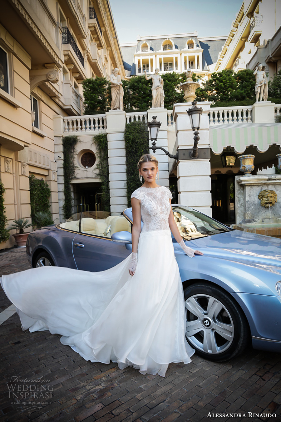 alessandra rinaudo 2017 bridal cap sleeves boat neckline heavily embellished bodice romantic a  line wedding dress lace back chapel train (32) mv