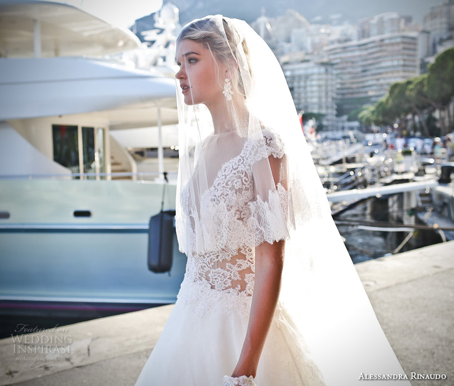 alessandra rinaudo 2017 bridal cap sleeves illusion bateau deep plunging v neck lace heavily embellished bodice princess a  line wedding dress v back royal chapel train (22) mv