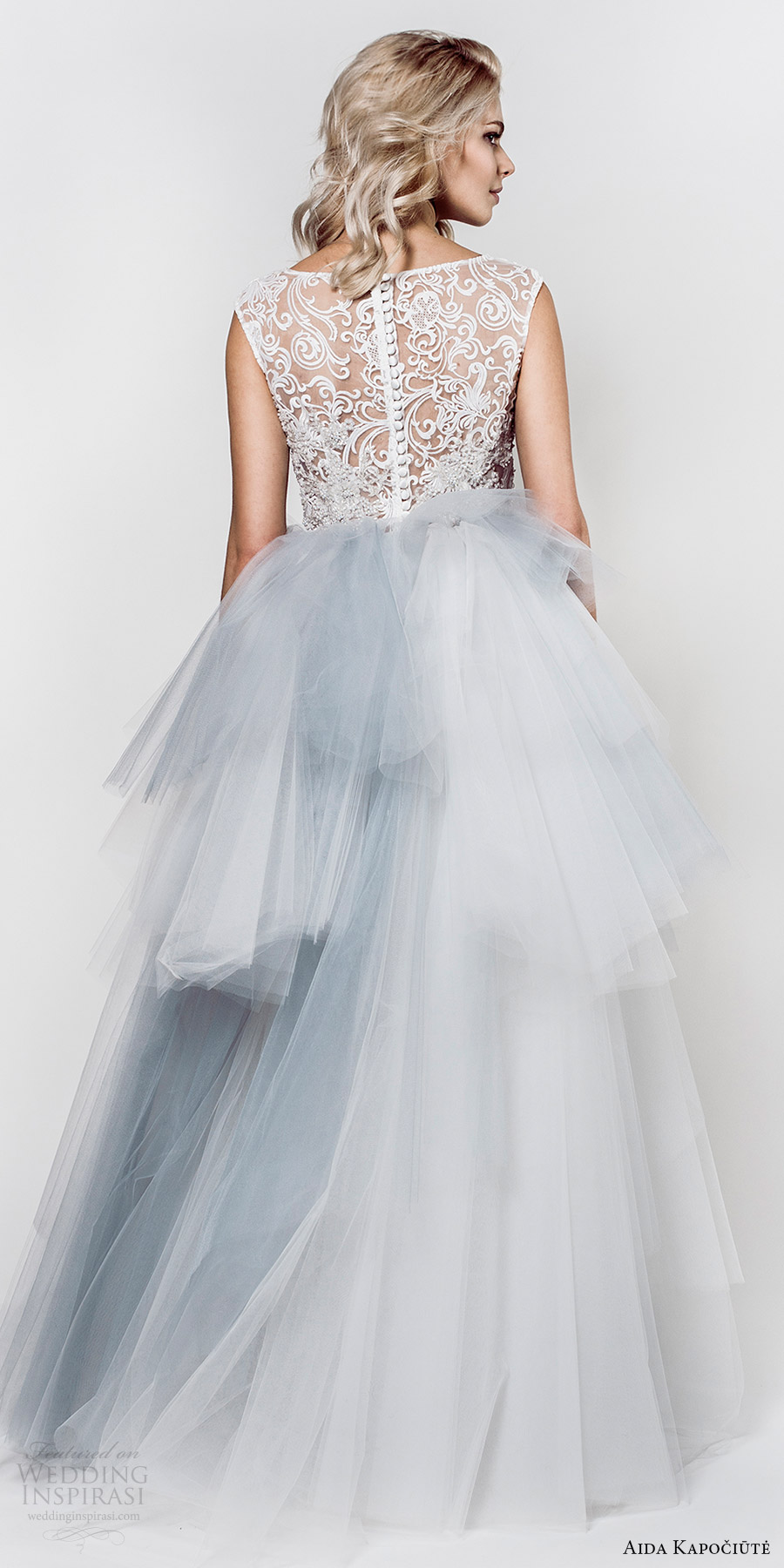 aida kapociute 2017 bridal sleeveless jewel neck lace bodice ball gown wedding dress (9) bv light blue color
