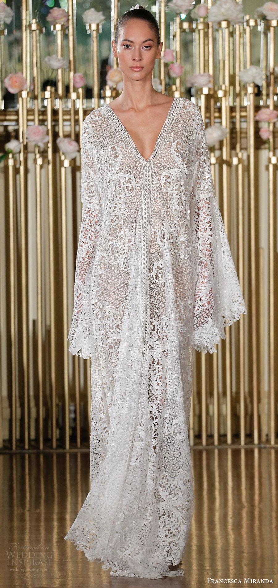 Francesca Miranda Spring 2018 Wedding Dresses New York