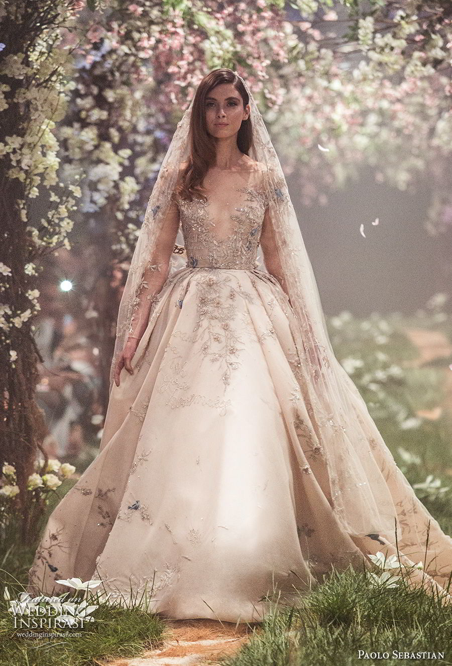 19 Beautiful Blush Wedding Dress 2018 Wedding Dress