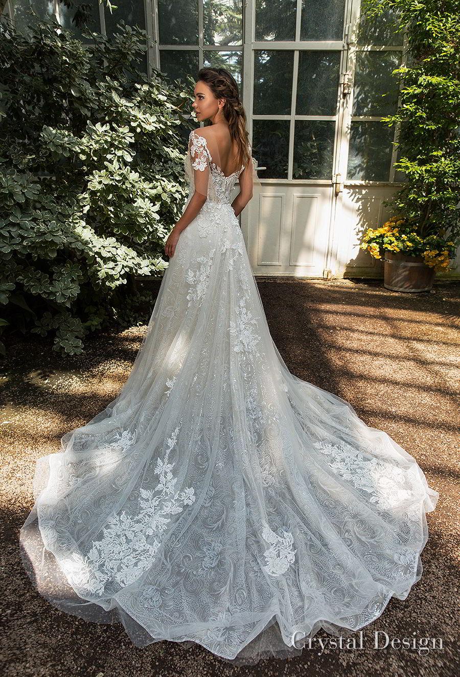 Crystal Design 2018 Wedding Dresses Royal Garden