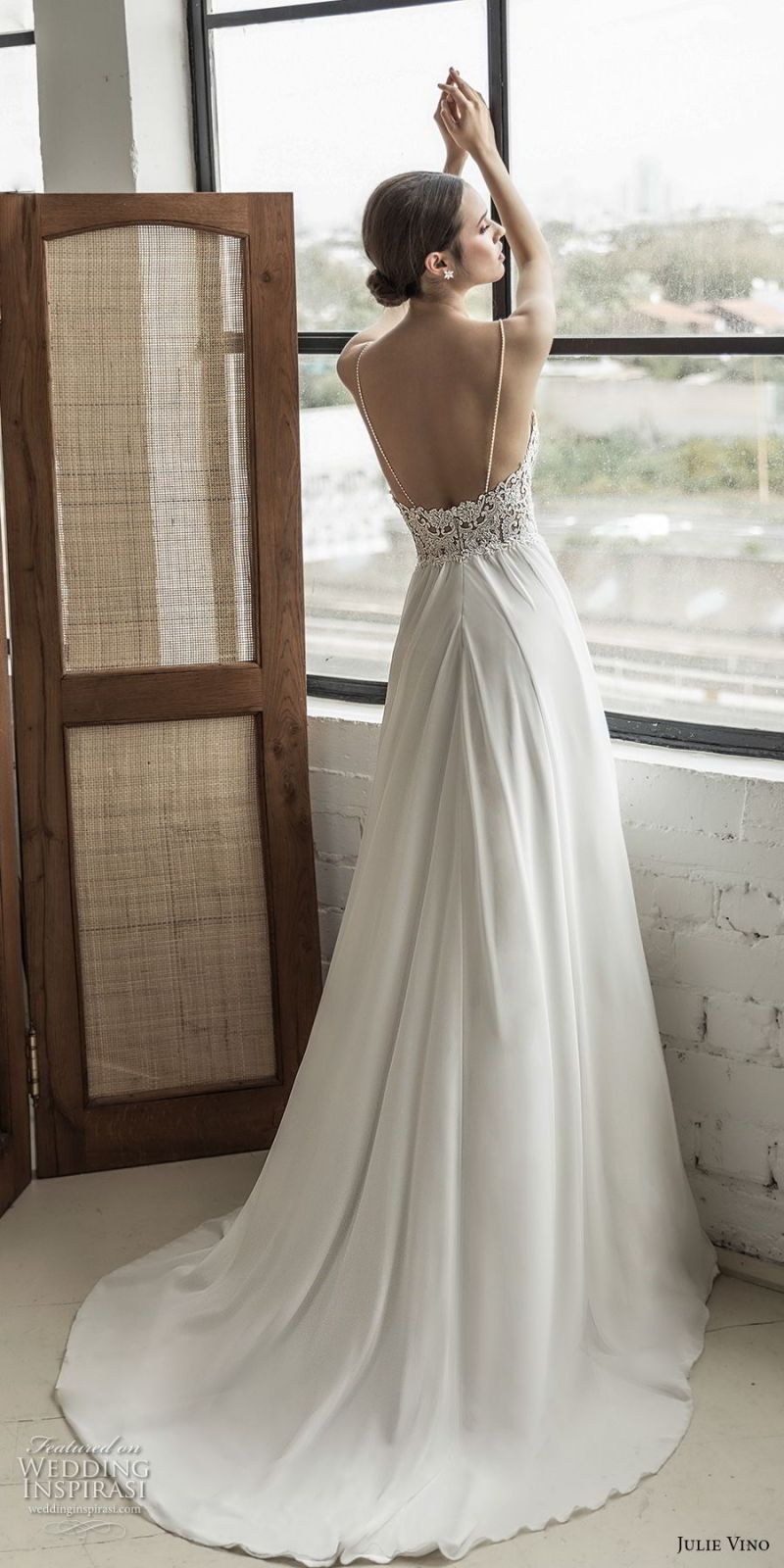 ad53a85ad5 Romanzo By Julie Vino 2019 Wedding Dresses The Love Story Bridal. Julie  Vino Fall 2018 Havana Strapless Off The Shoulder Deep Plunging Sweetheart  Neckline ...