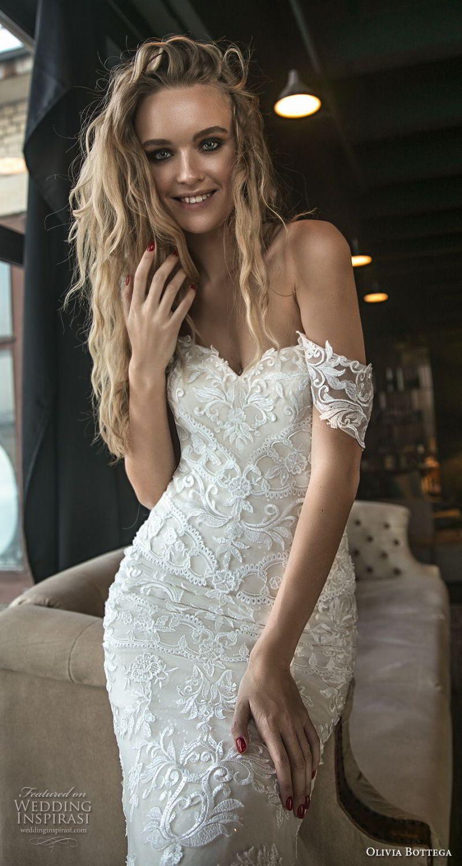 olivia bottega 2018 bridal off the shoulder sweetheart neckline full embellishment elegant sexy mermaid wedding dress chapel train (6) zv