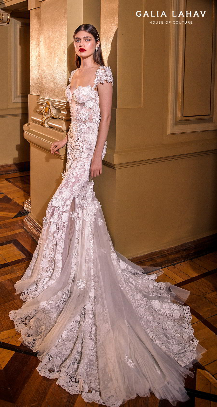 Sweetheart Dress Embellished Soft Tulle Flare Wedding And Line And Fit Neckline Lace