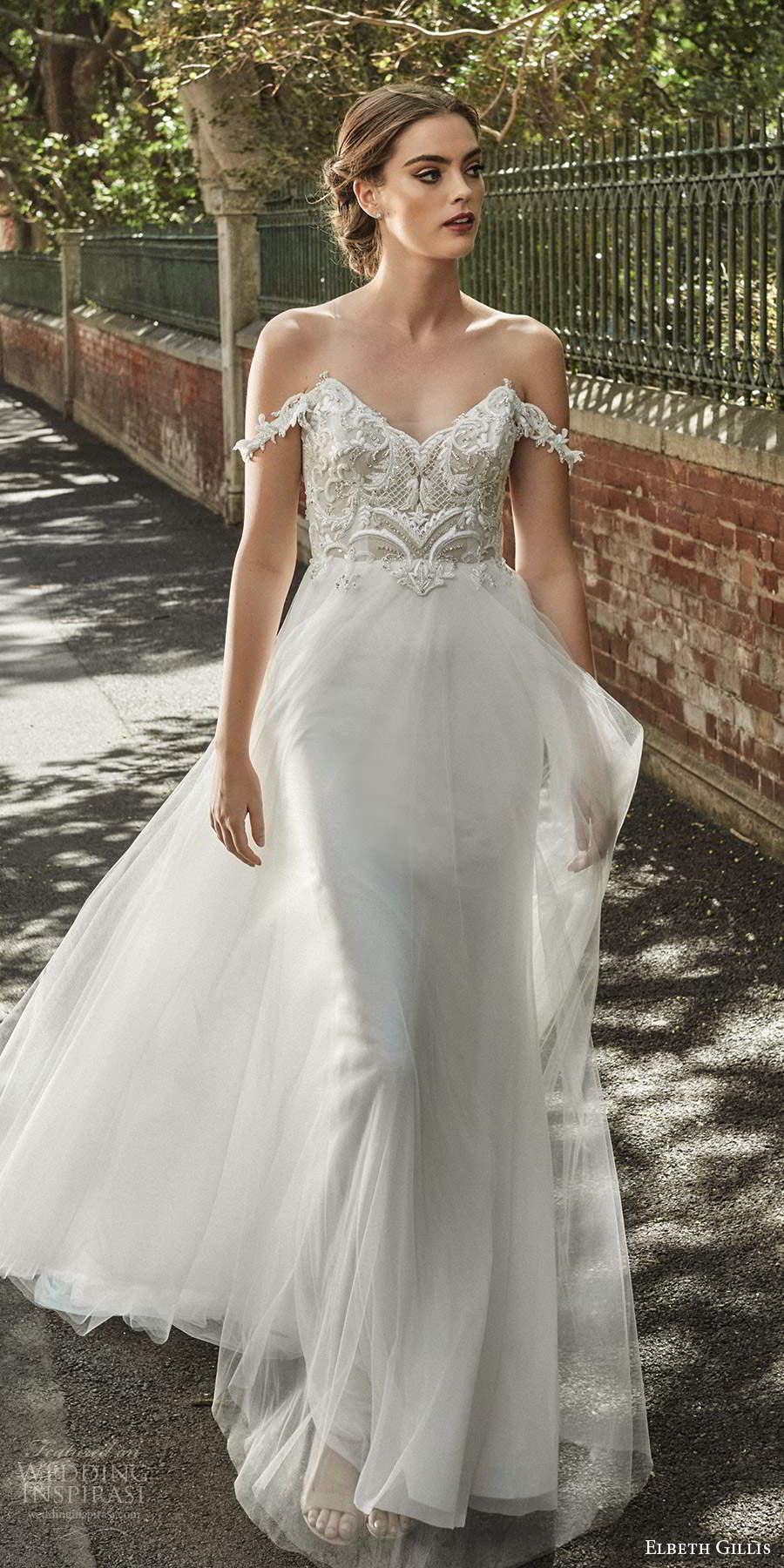 "Elbeth Gillis 2021 Wedding Dresses — ""Grace"" Bridal ..."
