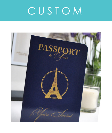 Custom Pport Invitations For Your Destination Wedding Or Travel Themed Event Are Our Speciality