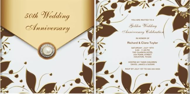 50th Wedding Anniversary Invitations Complete Guide