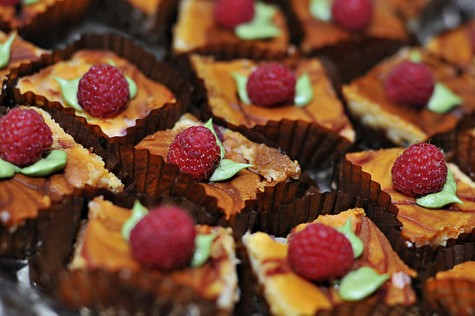 fun and elegant food ideas for receptions
