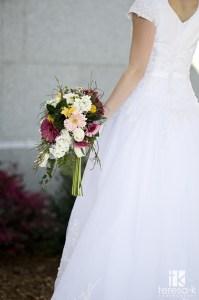 Bridal Boquet, LDS temple, LDS Wedding, LDS Bride