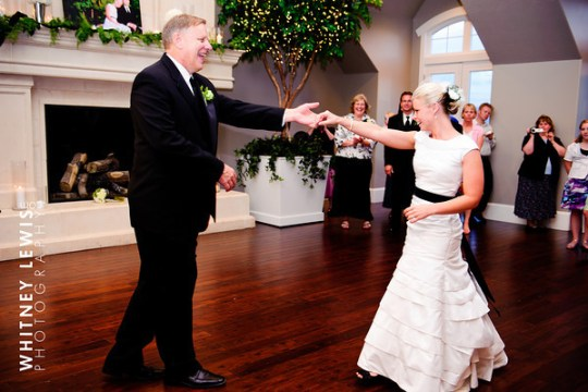 Father-Daughter Dance for LDS wedding receptions