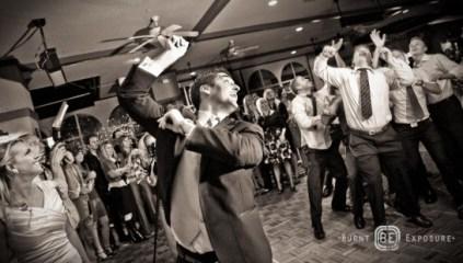 garter toss alternatives for LDS wedding receptions