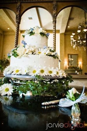 wedding cake for LDS wedding receptions
