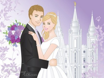Temple Marriage is Forever!