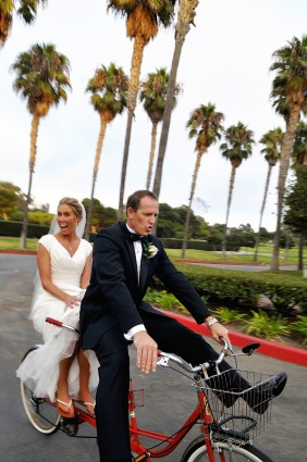 Alternative LDS wedding transportation