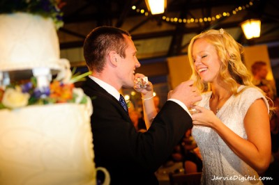 Wedding Cake for an LDS wedding reception