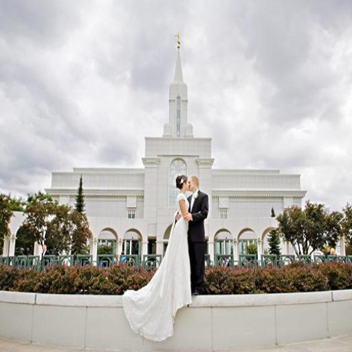Ceremony Vs Reception Dress: LDS Wedding Receptions