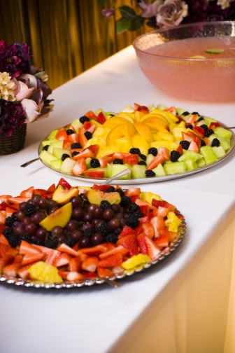 Do-it-yourself buffet for an LDS reception