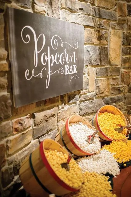 Popcorn Bar For Your Wedding