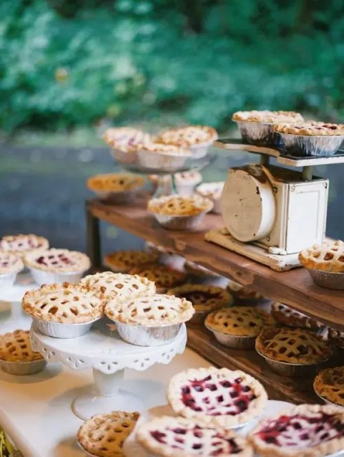 Fruit And Berry Wedding Desserts