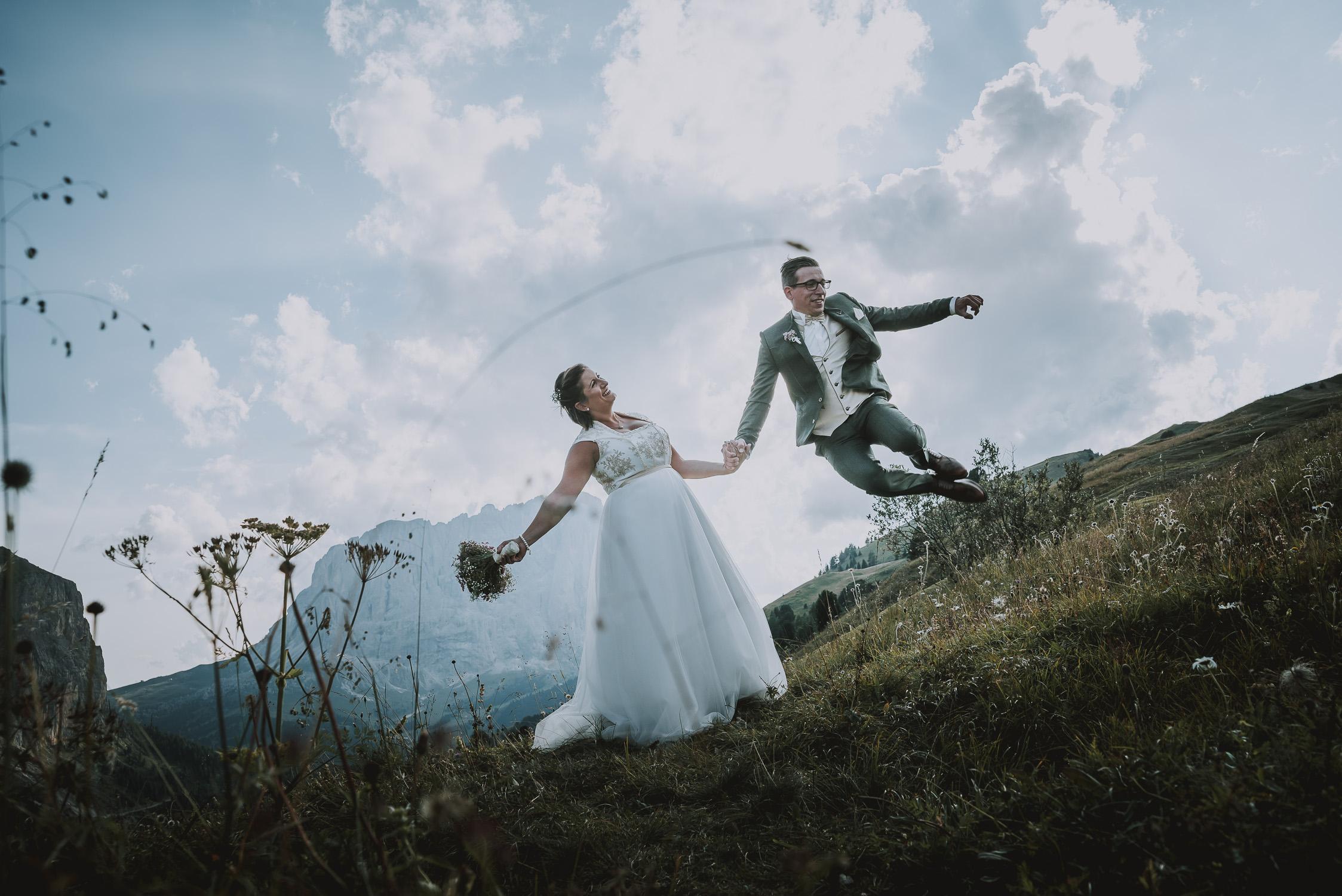 Wedding in the Dolomites