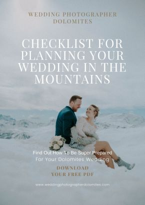 Checklist for Planning Your Wedding In The Mountains