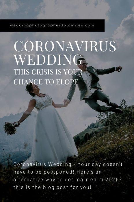 Coronavirus Wedding 2021