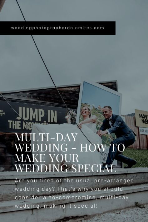 Multi-Day Wedding - How To Make Your Wedding Special