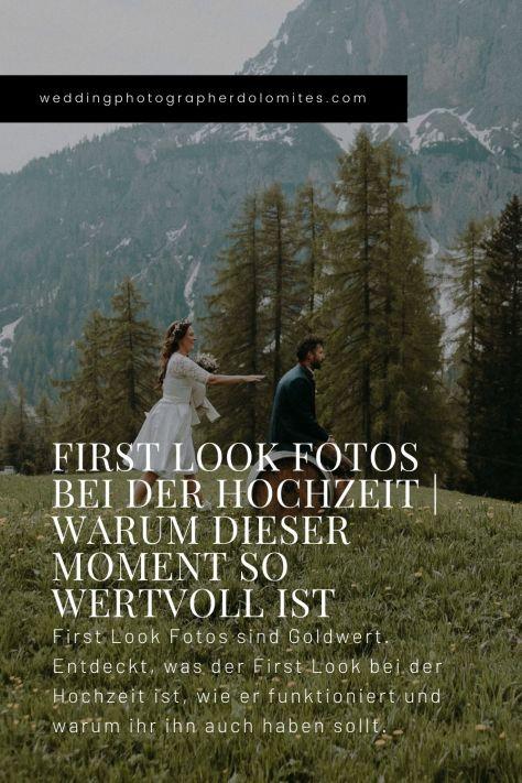 First Look Fotos Bei Der Hochzeit Warum Dieser Moment So Wertvoll Ist