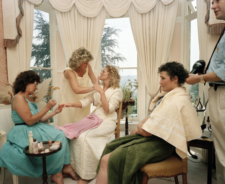 GB. England. Wedding preparations. From 'The Cost of Living'. 1986-89. © Martin Parr / Magnum Photos