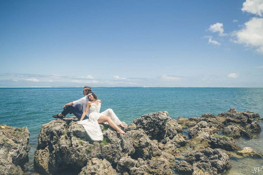 wedding photographer french polynesia sv photograph